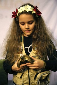 kids-pet-club-girl-with-turtle-1-at-the-toronto-christmas-pet-show-day-2