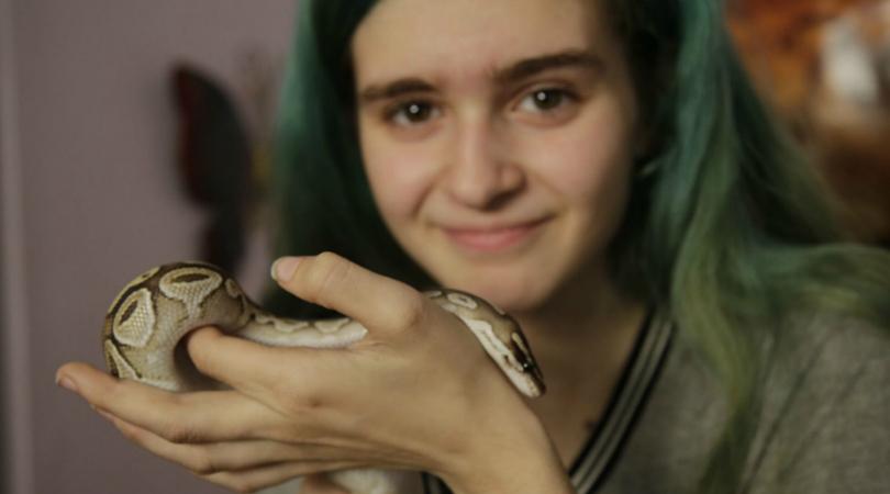 Meet Raina Our Ambassador for Reptiles