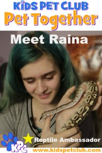 KPC Raina Reptile Ambassador