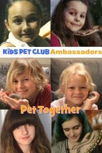 Kids Pet Club Ambassadors