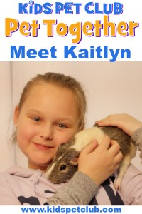 Meet Kaitlyn our Guinea Pig Ambassador