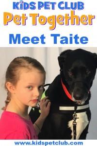 meet taite dog ambassador