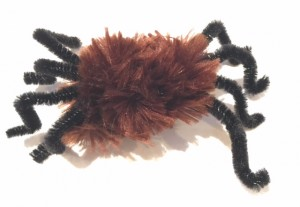 DIY Cat Toy Pipe cleaner spider