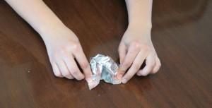 Tin Foil toy 2