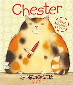 chester the cat melanie watt
