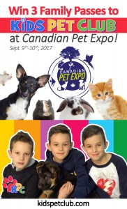 3 Chances to WIN Free Family Passes in this Awesome Giveaway to Fall Canadian Pet Expo Sept 9th & 10th 2017