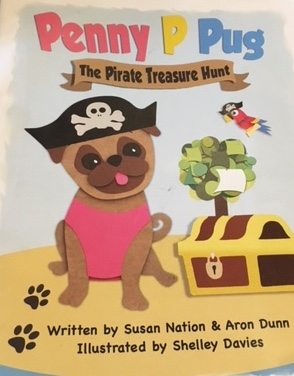Can You Help Penny P Pug On This Exciting Pirate Treasure Hunt?