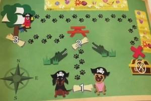 Penny P Pug Treasure Map
