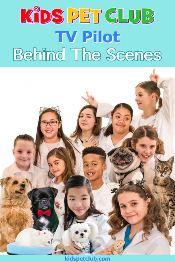 Behind the Scenes on Kids' Pet Club Filming