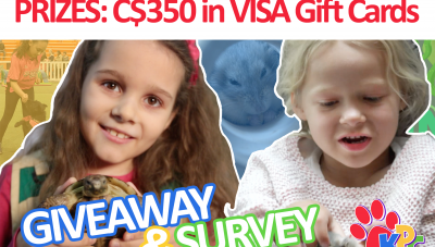 Respond to our Survey for Parents and Kids to WIN #Giveaway.